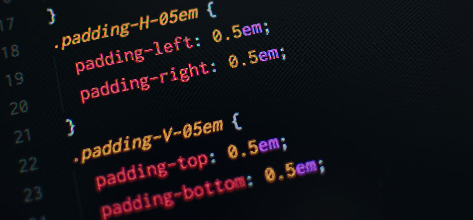 CSS3 Padding Code In Text Editor