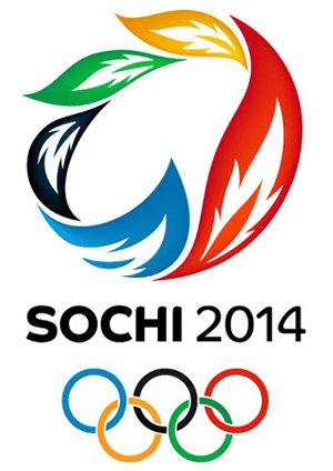 an image of the Sochi Olympics logo