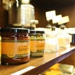 photo of some of the specialty spreads on shelf