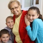 photo of kids with their grandmother 2