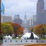 photo of A rainy day bring out the colors of Philadelphia