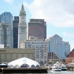 photo of The skyline of Boston from the water