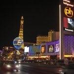 photo of Traffic on the Las Vegas strip