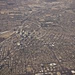 photo of An aerial view of Las Vegas