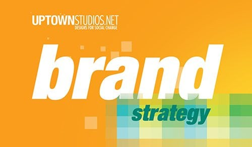 Brand Development Strategy On Orange Background From Uptown Studios