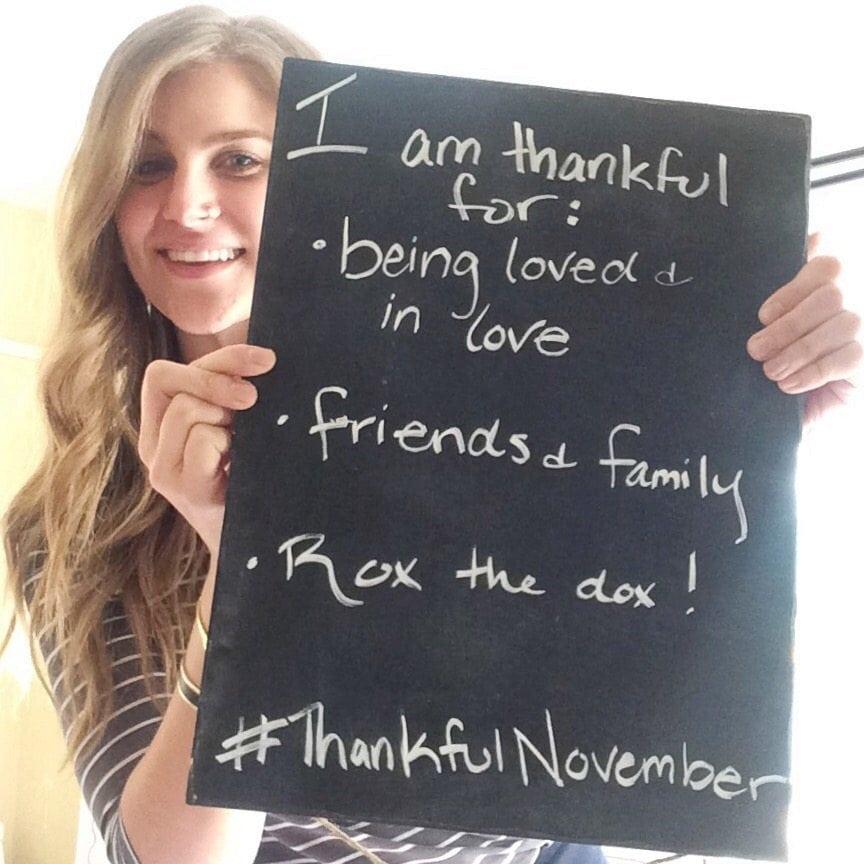 Leidhra Johnson thankful for thanksgiving