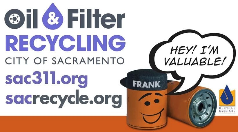 Oil and Filter Recycling – City of Sacramento portfolio thumbnail