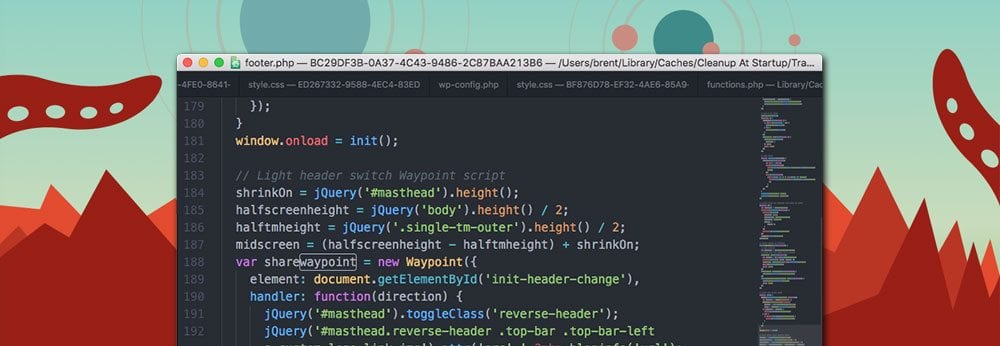 Atom Text Editor screen shot