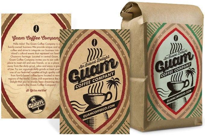 Guam Coffee portfolio thumbnail
