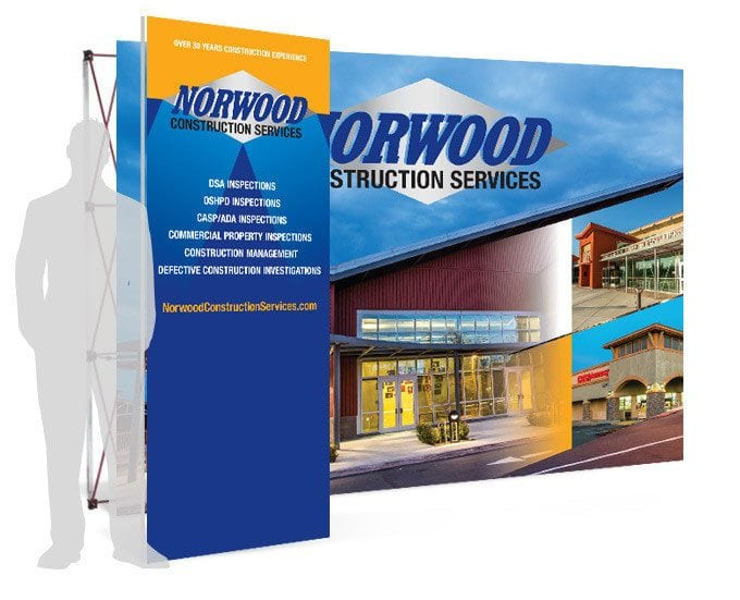 Norwood Construction Services Pop-up Sign