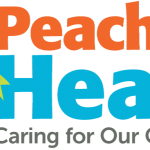 Peach Tree Health logo after Uptown Studios redesigned it