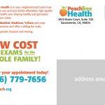 Peach Tree Health postcard
