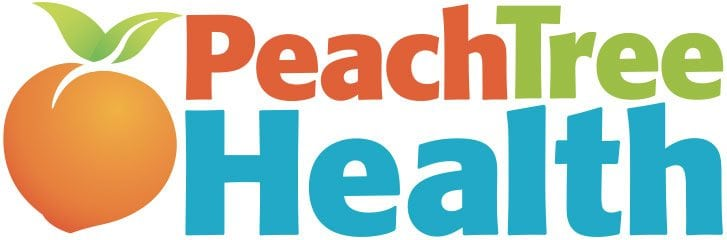 Peach Tree Health logo after we redesigned it