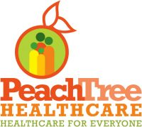 Peach Tree Health logo before we redesigned it