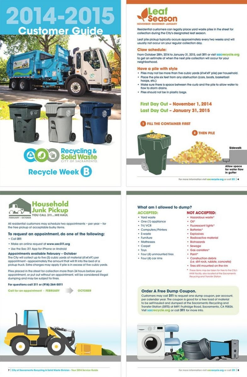 City of Sacramento Recycling and Solid Waste Customer Guide 2014/2015