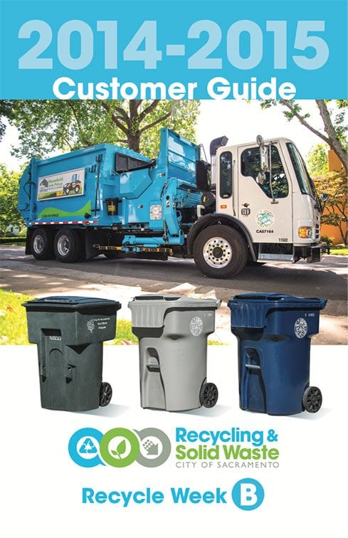 City of Sacramento Recycling and Solid Waste Customer Guide page 1