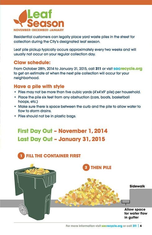 City of Sacramento Recycling and Solid Waste Customer Guide page 2
