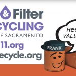 Screenshot of the Sac Recycle oil filter recycling program video we did for them