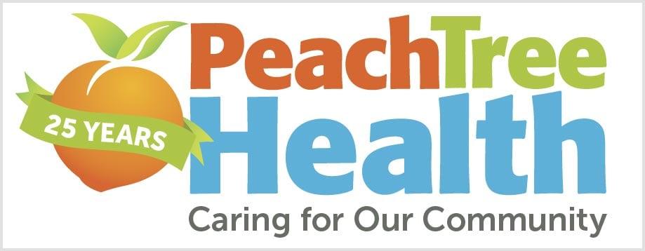 Peach Tree Health 25 years logo