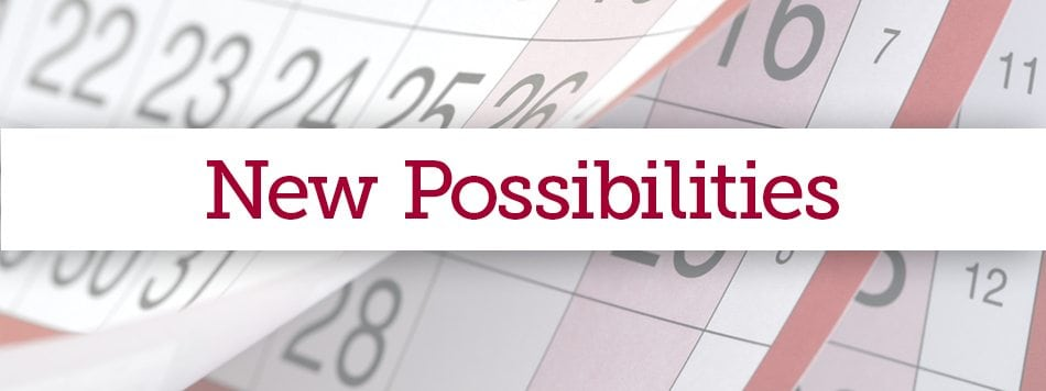 New Possibilities for 2017 graphic