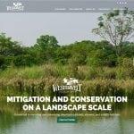 A screenshot of the Westervelt Ecological Services website
