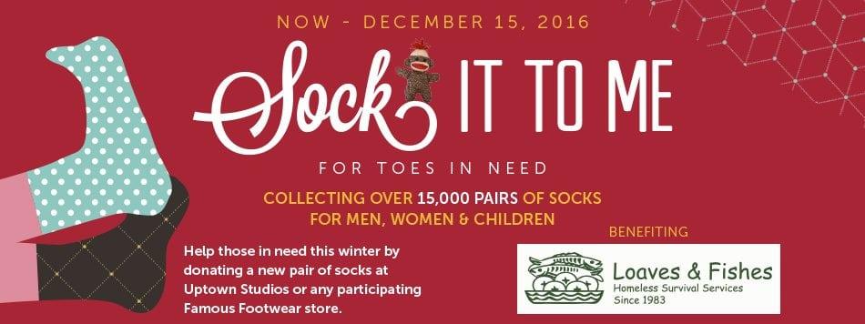 2016 Sock Drop sock it to me flyer