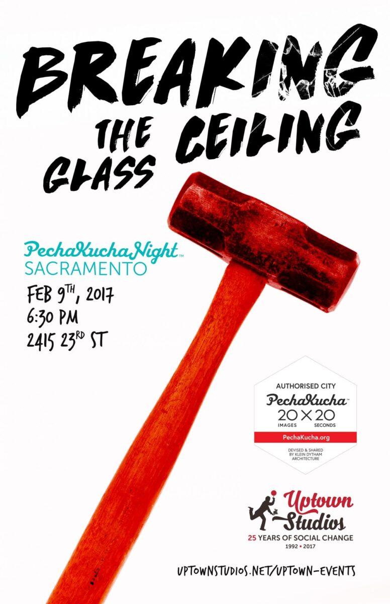 breaking the glass ceiling PechaKucha