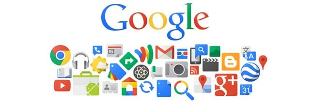 Google apps and icons