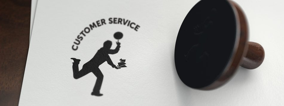 stamp of customer service