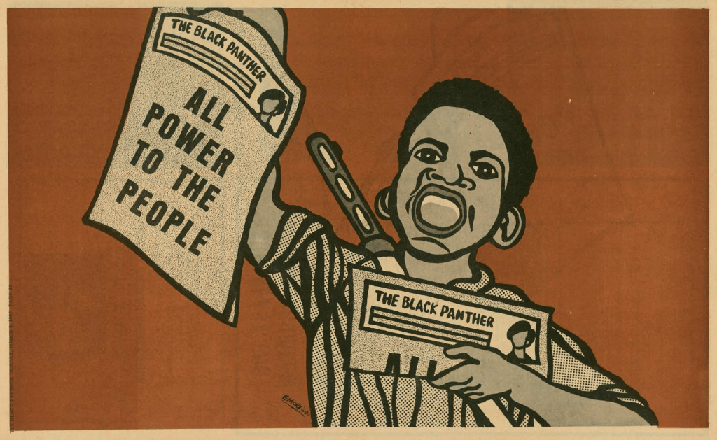 Emory Douglas Power to the People artwork