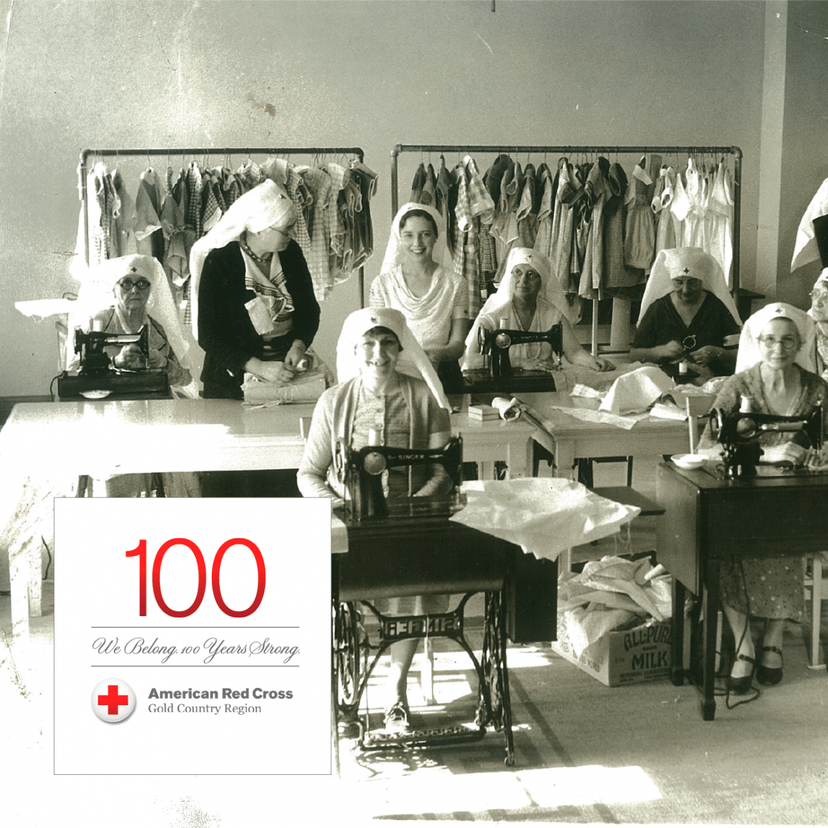 100 years of the American Red Cross