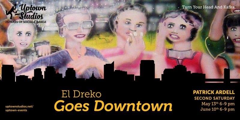 El Dreko Art Show graphic