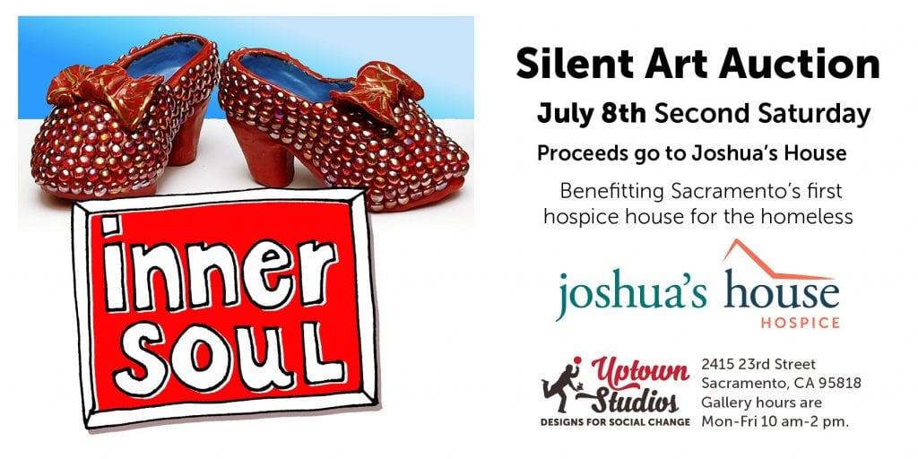 Inner soul silent art auction flyer