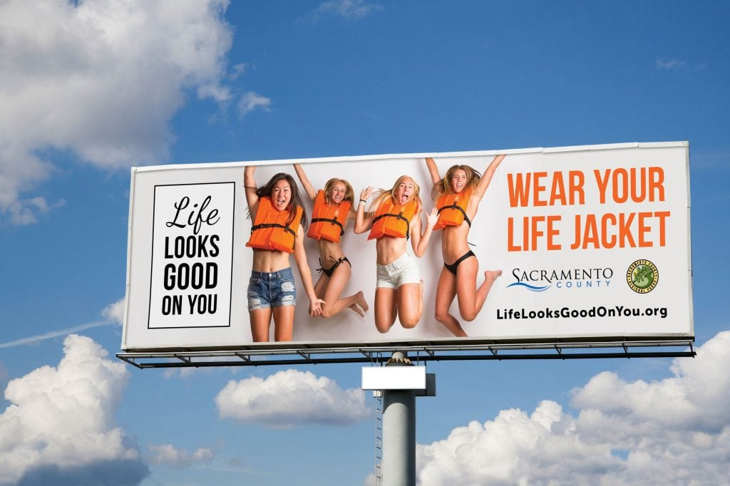 Life looks good on you billboard
