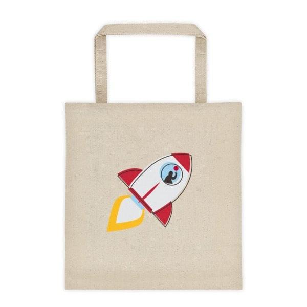 bag with rocket