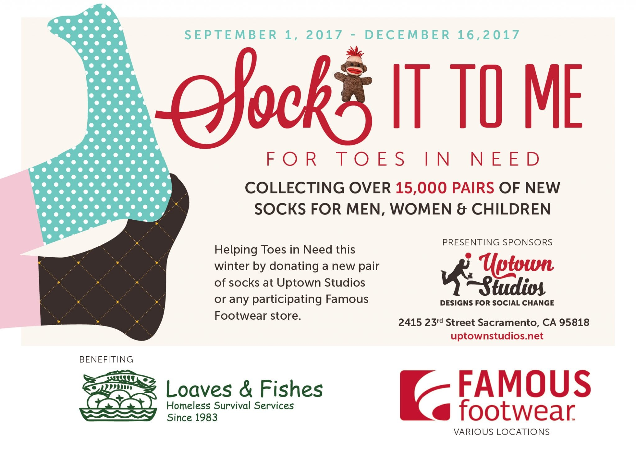 Sock it to Me - For Toes in Need