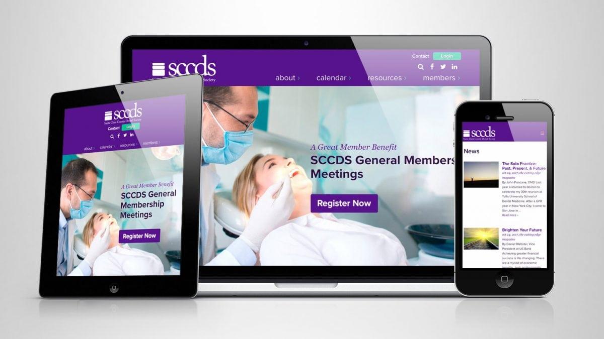 Santa Clara Dental Society portfolio thumbnail