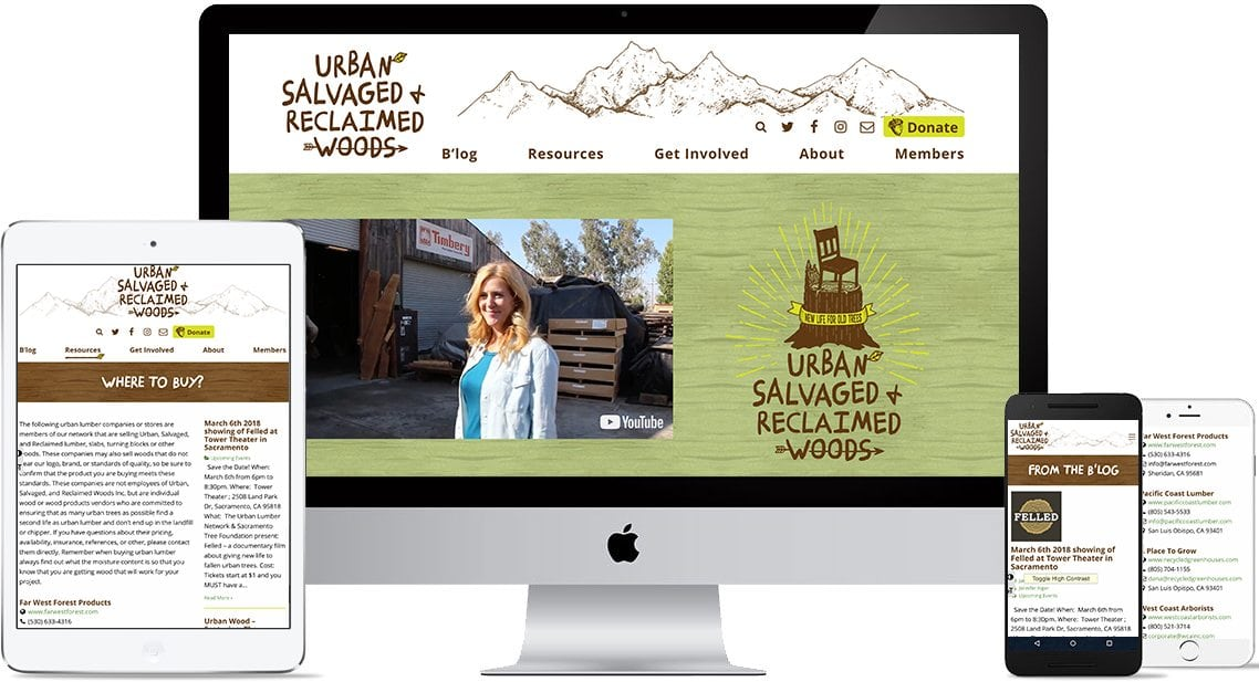 urban salvage web site graphics