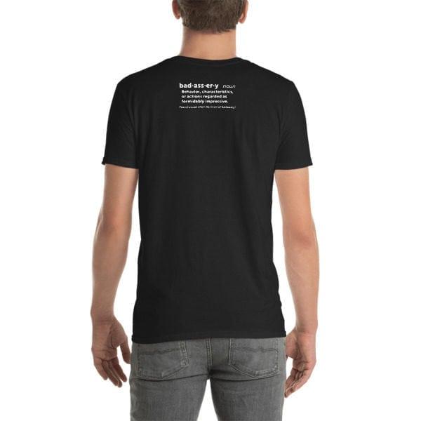 back badassery tshirt