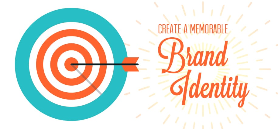 Create a memorable brand identity banner