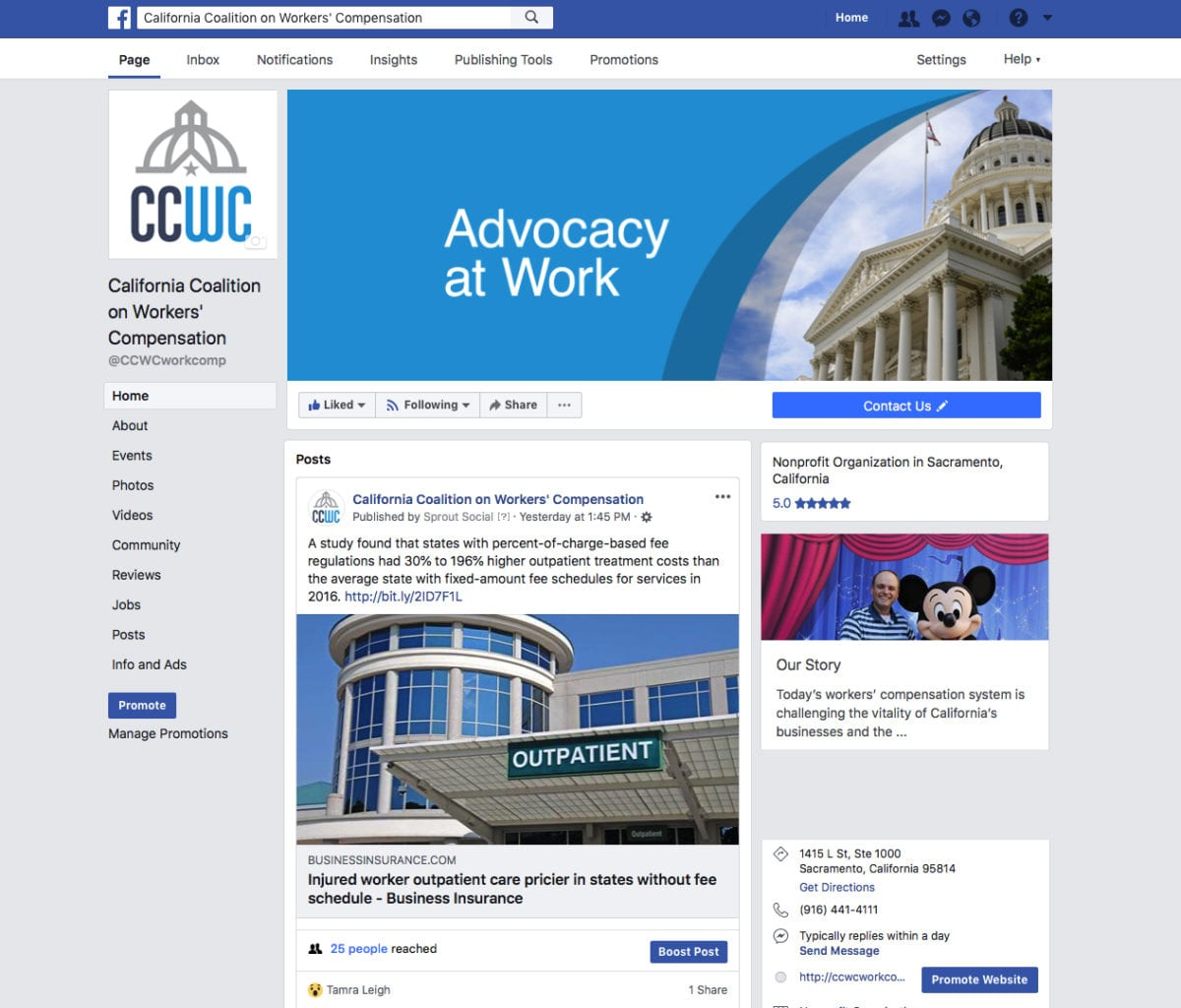 CCWC Facebook