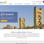 Sacramento Rotary Club website image