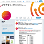 CETPA Twitter page