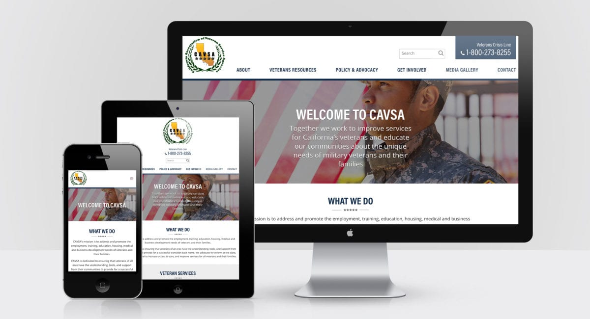 The California Association of Veteran Service Agencies portfolio thumbnail