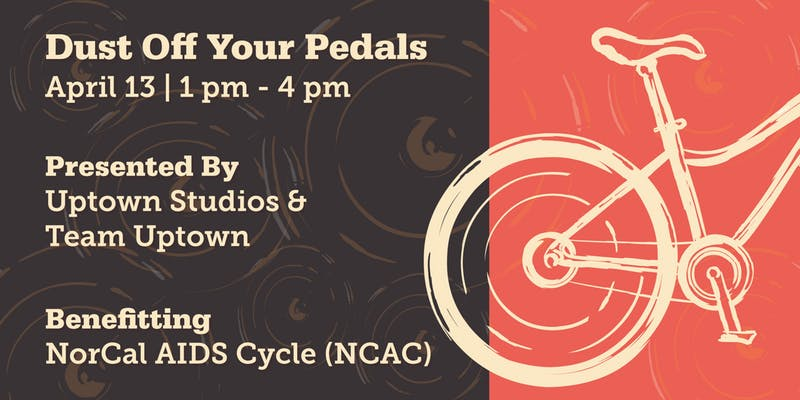 Dust of your pedals fundraiser