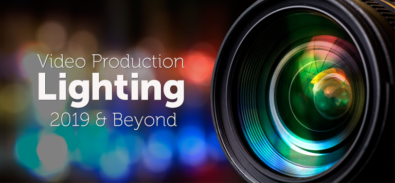 Video Production Lighting camera lens