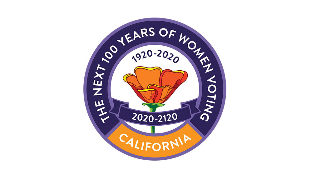 League of Women Voters – 100 Years of Women's Vote Logo portfolio thumbnail