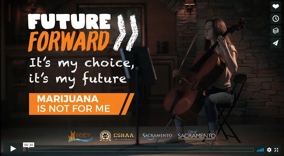 Sacramento County Coalition for Youth – Future Forward PSA portfolio thumbnail