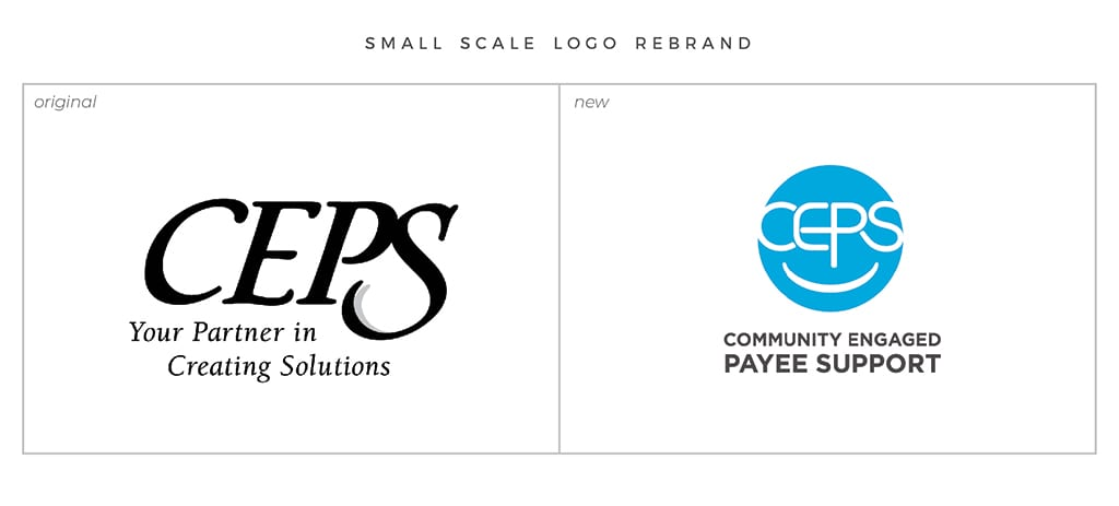Full-Service Branding Small Scale Logo Rebrand For CEPS
