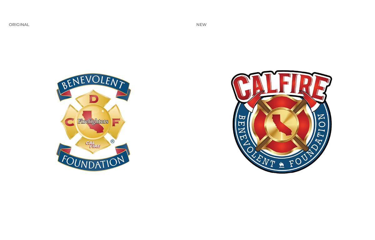 Thumbnail CalFire Benevolent Foundation Logo Brand Awareness